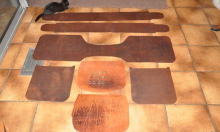 Projets de sacoches cuir grande capacité